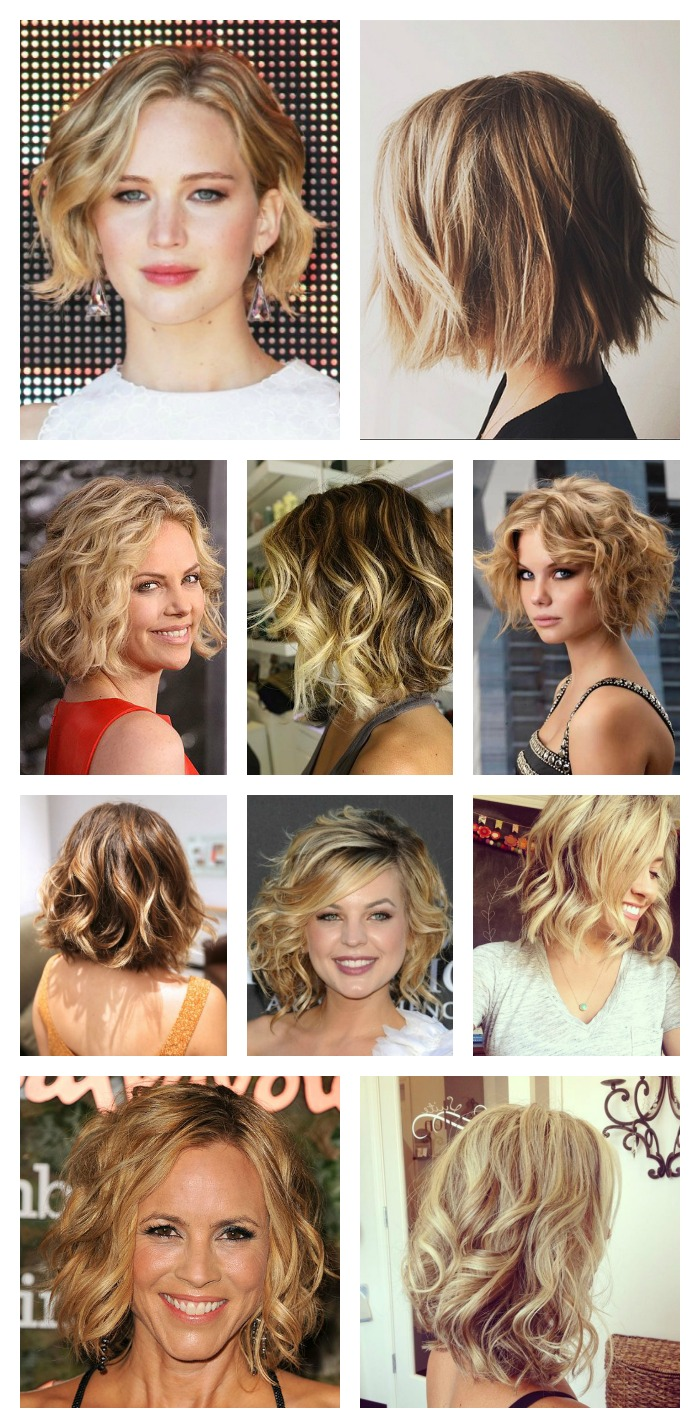 Tips on how to curl short hair