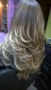 Style your hair with Babyliss Hot Air Brush Pro Ionic Styler