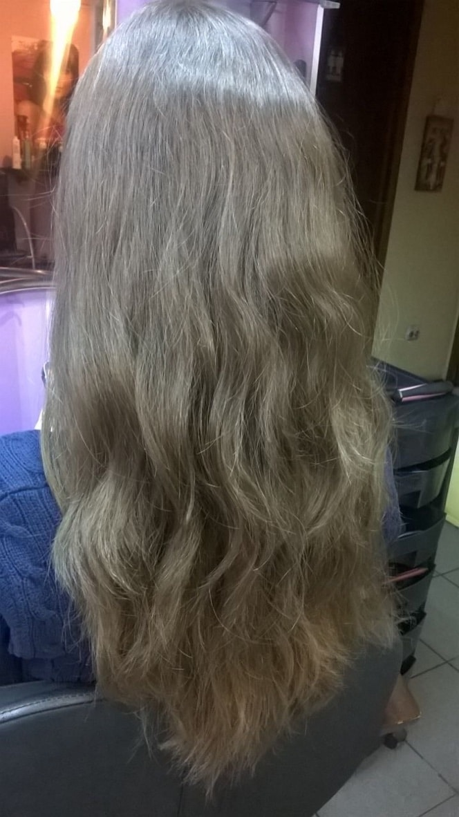 Wavy Hairstyle with Babyliss Hot Air Brush Pro Styler