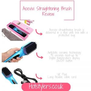 My Acevivi Anion Brush Straightener Review