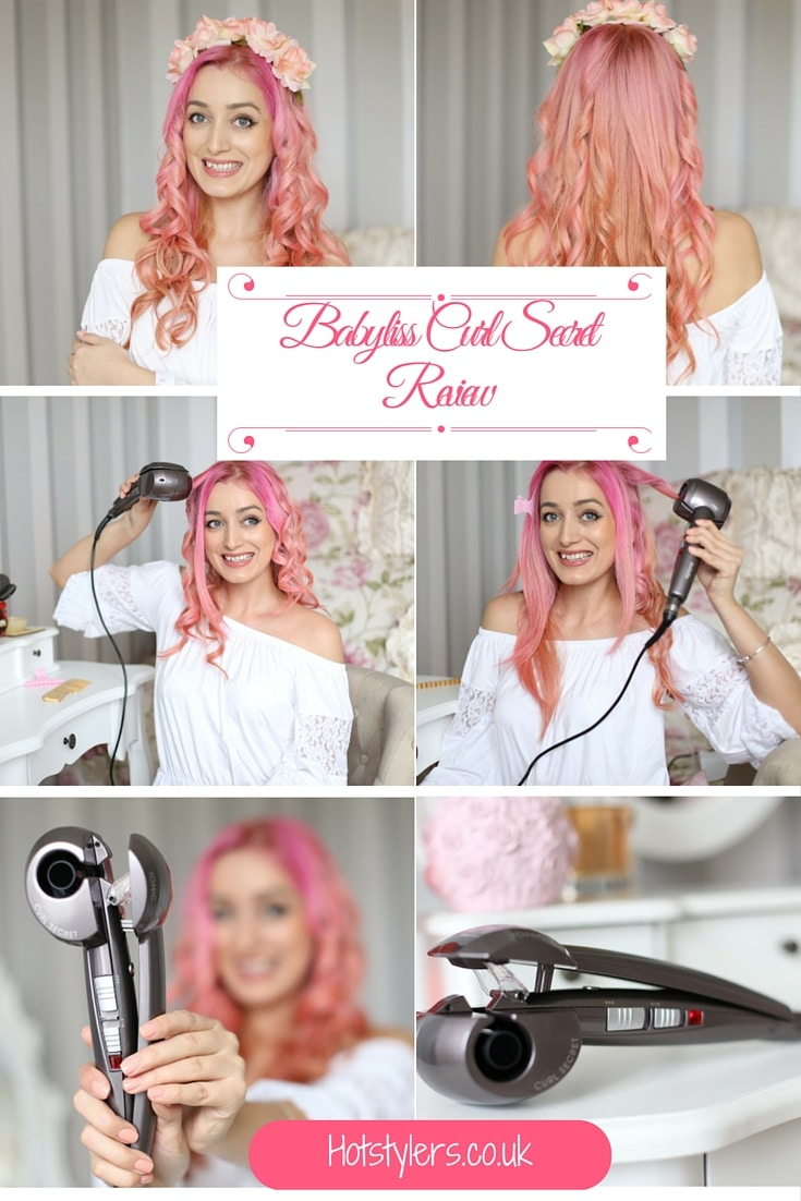 Babyliss Curl Secret Review - Boho look