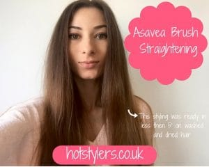 My Review Of The AsaVea Straightener Brush