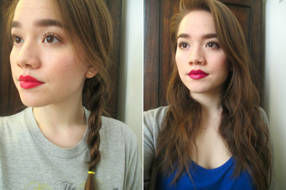 How to get wavy hair with braids