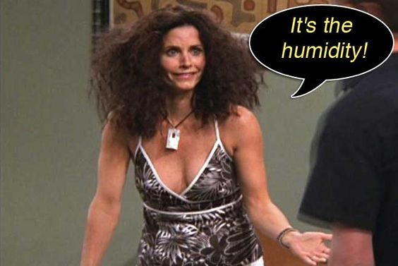it's the humidity