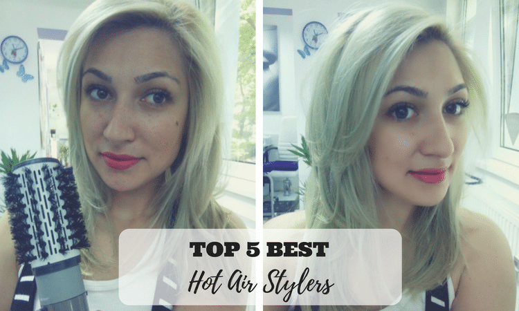 Girl with Blonde Hair - Best Hot Air Stylers
