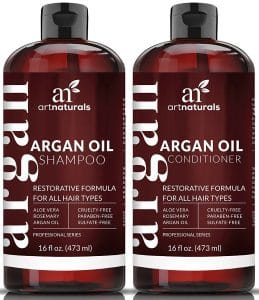 Art Naturals Organic Moroccan Argan Oil Shampoo and Conditioner
