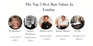 Top 5 best hair salons in London