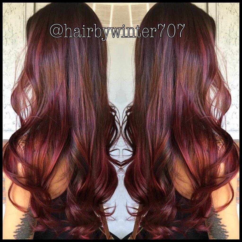 Oily slick hair redhead 2